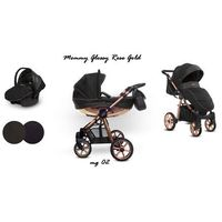 Baby Active wózek Mommy Glossy Rose Gold 3w1