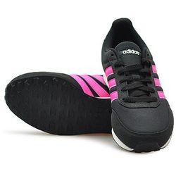 Buty damskie ADIDAS V RACER 2.0 W DB0432 czarne różowy spód