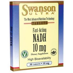 Swanson NADH 10mg 30 tabl.