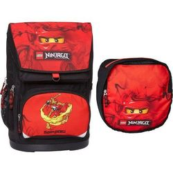 LEGO Ninjago, Kai, plecak duży + worek, czarny Darmowa dostawa do sklepów SMYK