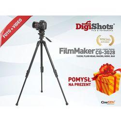 Statyw foto video, opcja makro CG-3028, 152cm
