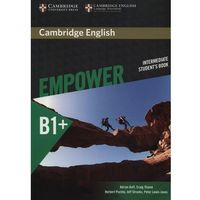 Cambridge English Empower Intermediate Student's Book (opr. miękka)