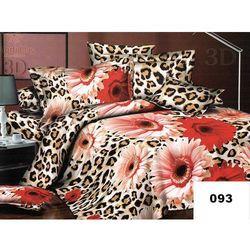 Komplet Pościeli 200x220 Pościel 3D Kwiaty 6cz 093 - 093
