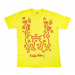 koszulka ALIEN WORKSHOP - Haring Rise Above Yellow (ZLUTA) rozmiar: S