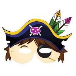 Maska Pirat, 26 x 19 cm, 6 szt.