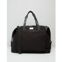 Sandqvist Charles Holdall Bag In Black - Black