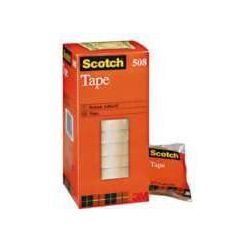 Taśma klejąca 3M Scotch Tape 15mmx33m żółta 508