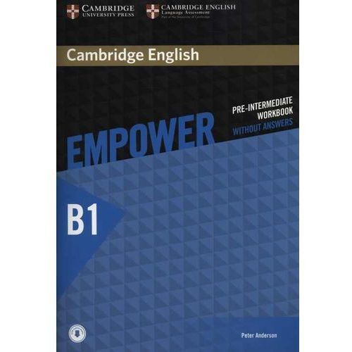 Cambridge English Empower Pre-Intermediate Workbook Without Answers with Audio (opr. miękka)