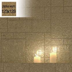 Płytki Złote Kafelki COMPONER Mozaika Szklana 123x123mm