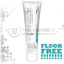 SUPERSMILE Fluoride-FREE 119g - wybielająca pasta do zębów bez fluoru, usuwająca przebarwienia z papierosów, kawy, herbaty (BEZ FLUORU) - NEW !!