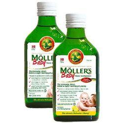 TRAN MOLLERS Baby Norweski 250ml sm.naturalny