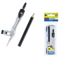 Starpak, cyrkiel metalowy i ołówek, zestaw Darmowa dostawa do sklepów SMYK