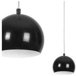 LAMPA wisząca BALL 6583 Nowodvorski metalowy ZWIS halogenowa OPRAWA kula ball czarny biały