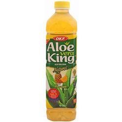 Napój Aloe Vera King z cząstkami aloesu i ananasem 1,5l OKF