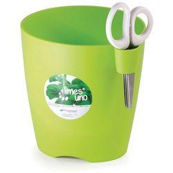 Doniczka na zioła Limes Uno - Prosperplast (Wysokość doniczki:: 130 mm, Kolor:: Limonka)