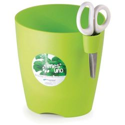Doniczka na zioła Limes Uno - Prosperplast (Wysokość doniczki:: 150 mm, Kolor:: Biały )