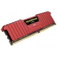 CORSAIR DDR4 Vengeance LPX 8GB/2400 RED CMK8GX4M1A2400C14R