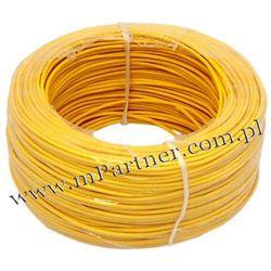 Przewód LGY 1x1,5mm żółty 100m