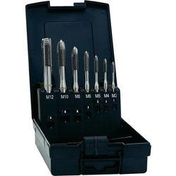 Zestaw gwintowników maszynowych przelotowych HSSG-E Exact, nakrój C, DIN371, 7 szt.