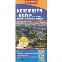 Kędzierzyn-Koźle Powiat Kędzierzyńsko -Kozielski dla aktywnych mapa wodoodporna 1:20 000/1:45 000 Plan (opr. miękka)