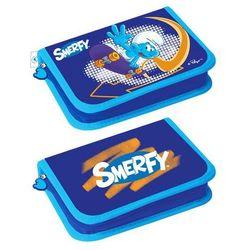 Piórnik STARPAK 308615 Smerfy 2 klapki z wyposażeniem