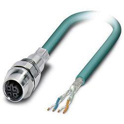 Kabel sieciowy Przewód sieciowy CAT 5e SF/UTP 4 x 0.14 mm² VS-M12FSEC-OE-93E-LI/2,0 Phoenix Contact 1405837 Niebieski 1 szt.