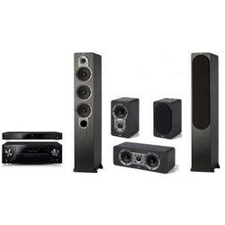 Kino domowe PIONEER VSX-930-K + BDP-170-K + Jamo S428 HCS3 Czarny