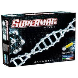 Supermag Style, klocki magnetyczne, 50 elementów Darmowa dostawa do sklepów SMYK