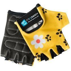 Rękawiczki rowerowe CRAZY SAFETY Leopard dziecięce