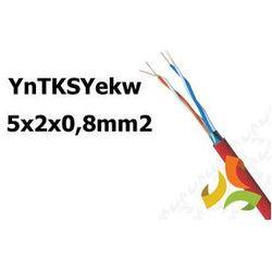 Przewód YnTKSYekw 5x2x0,8mm2 do obwodów p.poż 100mb
