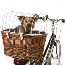 Kosz rowerowy z ochronną kratką, montaż na bagażniku - Ok. dł. x szer. x wys.: 53 x 35 x 43 cm