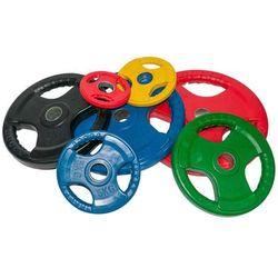 Obciążenie olimpijskie gumowane 1,25kg kolorowe