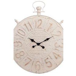 Zegar metalowy Antique Beige wiszący