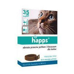 Obroża dla kotów przeciw pchłom i kleszczom Happs