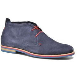 promocje - 20% Buty sznurowane Marvin&Co Nicolu Męskie Niebieskie 100 dni na zwrot lub wymianę