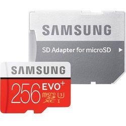 Samsung MB-MC256DA/EU EVO+ mSD Class10+Adapter DARMOWA DOSTAWA DO 400 SALONÓW !!