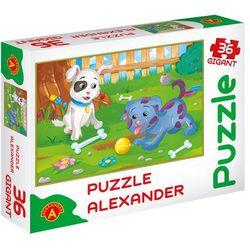 Puzzle 36 Gigant Małe pieski