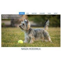 Szablon Joomla / WordPress dla hodowli psów SH2d