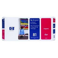 HP oryginalny głowica drukująca C4952A, No.81, magenta, HP DesignJet 5000, PS, UV, 5500, PS, UV
