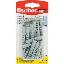 Kołki rozporowe Fischer 52118 S8 GK, nylon, 20 szt.