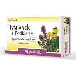 TYMIANEK z Podbiałem + 20 dodatkowych ziół x 30 sztuk