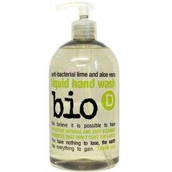 BIO-D antybakteryjne mydło w płynie limonka i aloes 500 ml