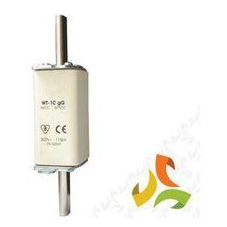 Wkładka topikowa zwłoczna gg WT-1C 125A, bezpiecznik przemysłowy ETI