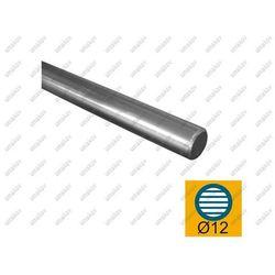Pręt nierdzewny 12 szlif AISI304, D12/L3000mm