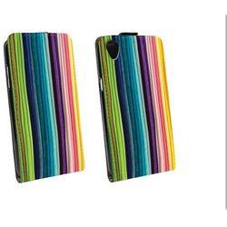 Flip Fantastic - Alcatel One Touch Idol 3 (4.7) - futerał na telefon - sznurowadła