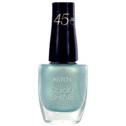 Astor Quick & Shine Nail Polish 8ml W Lakier do paznokci 309 Time For Holiday