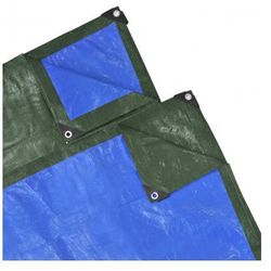 Plandeka, przykrycie (10 x 6 m) niebiesko-zielona Zapisz się do naszego Newslettera i odbierz voucher 20 PLN na zakupy w VidaXL!