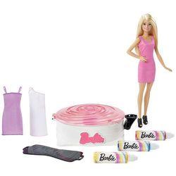 Mattel Barbie Zakręcone wzory zestaw i lalka