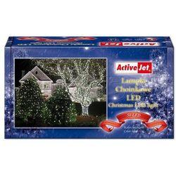 Lampki choinkowe 50LED AJE-CL505BO niebieskie zew