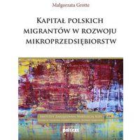 Kapitał polskich migrantów w rozwoju mikroprzedsiębiorstw (opr. broszurowa)